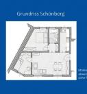 Grundriss Ferienwohnung Schönberg
